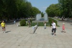 Promujemy tenis ziemny wśród białostoczan-Park Planty, maj 2013